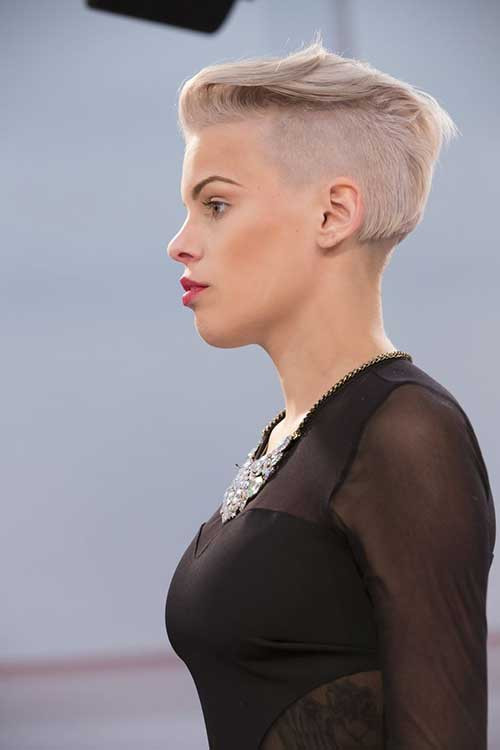 Undercut Hairstyle Girl  30 Girls Hairstyles for Short Hair