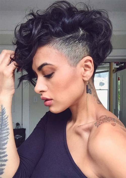 Undercut Hairstyle Girls  51 Edgy and Rad Short Undercut Hairstyles for Women Glowsly