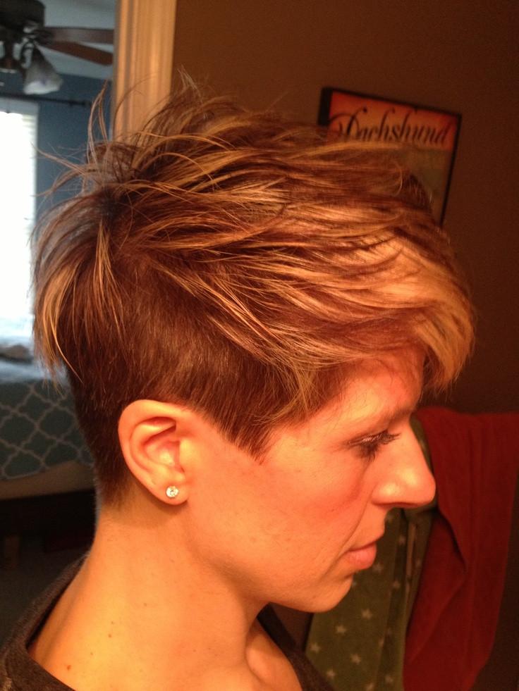Undercut Hairstyle Women Short Hair  Short Undercut Hairstyles For Women Elle Hairstyles