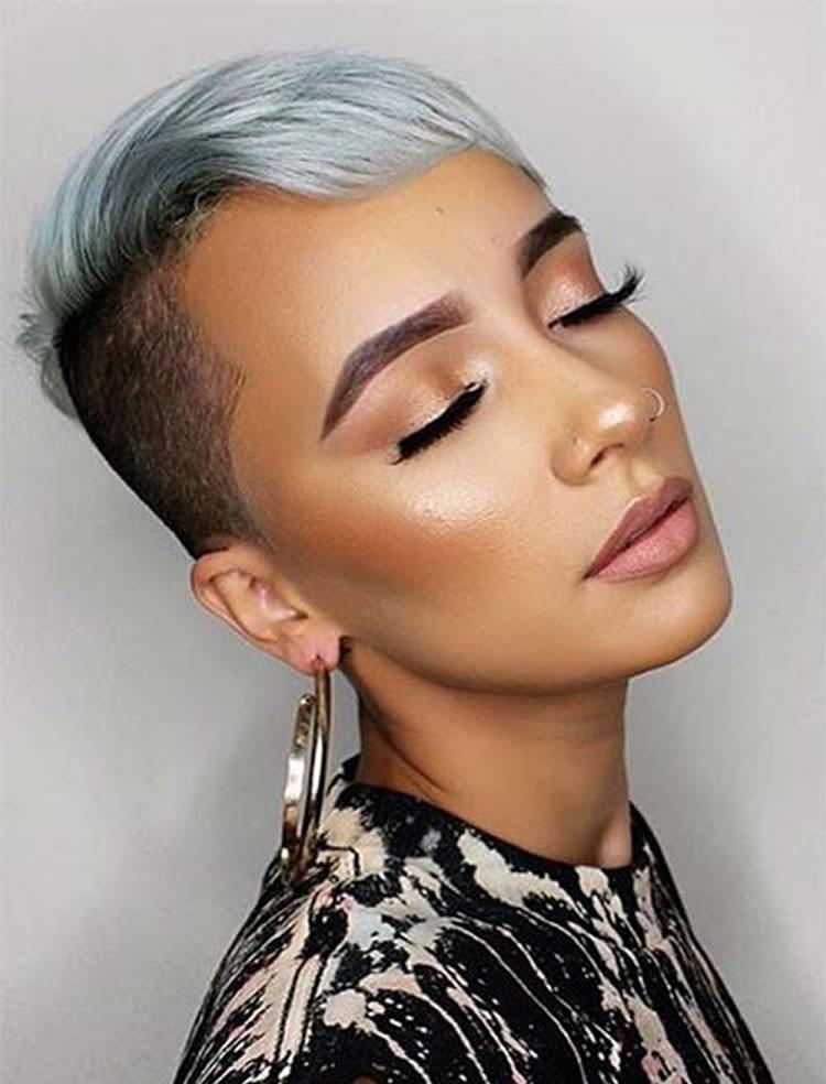 Undercut Hairstyles For Black Women  Short Hairstyles for Black Women