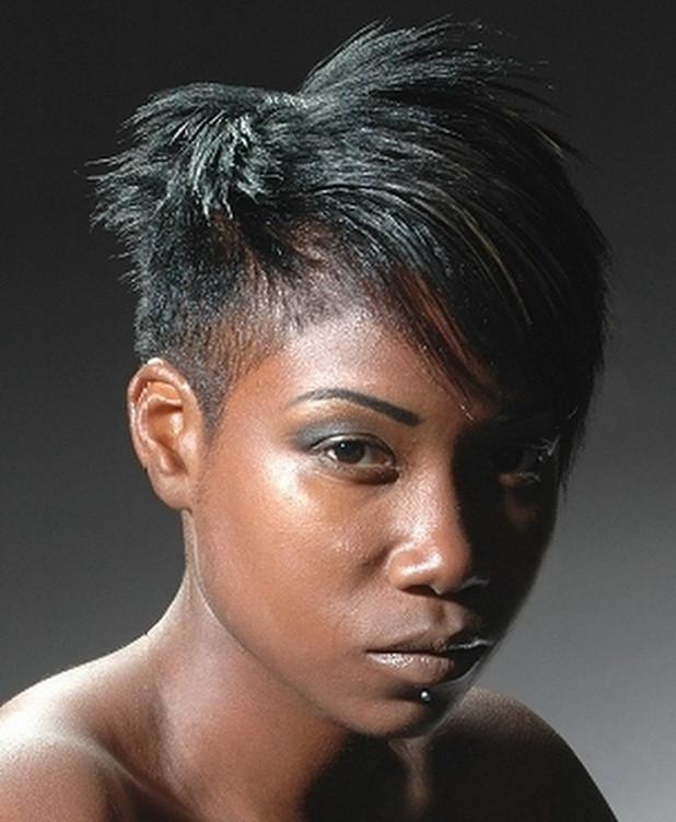 Undercut Hairstyles For Black Women  Short Cut Hairstyles for Black Women