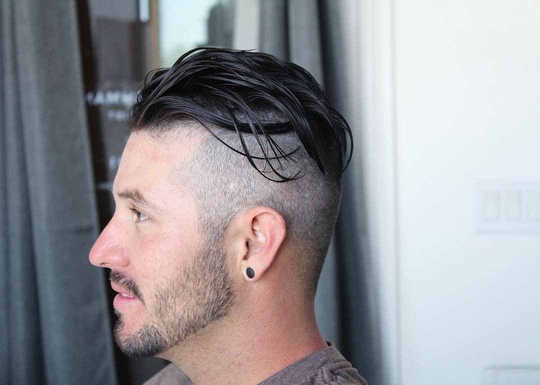 Undercut Mens Hairstyle  Best Men s Haircuts Hairstyles For A Receding Hairline
