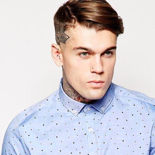 Undercut Mens Hairstyle  10 Tren st Men's Undercut Hairstyles of 2016
