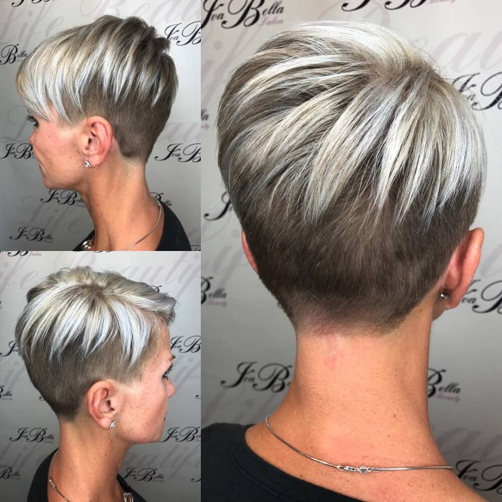 Undercut Pixie Hairstyle  41 Cute Short Haircuts for Short Hair Updated for 2018
