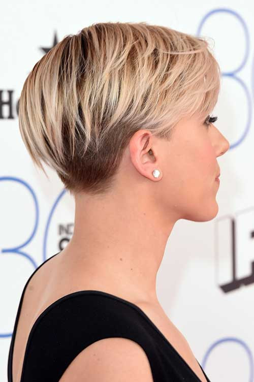 Undercut Pixie Hairstyle  20 Pixie Hair Styles Short Hairstyles 2017 2018