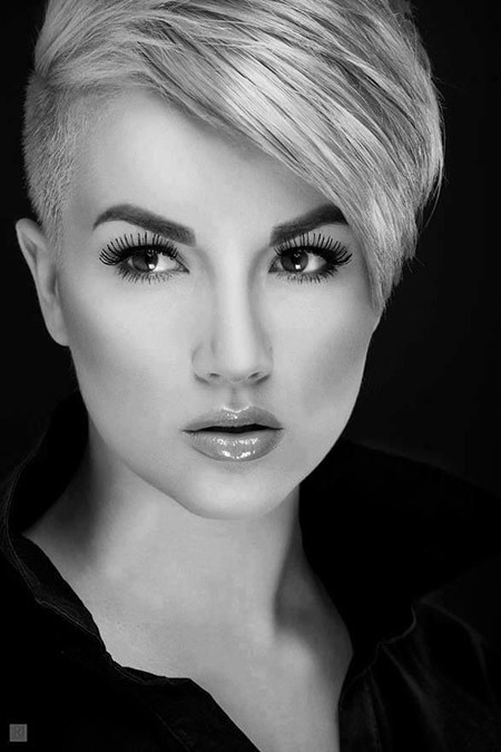 Undercut Pixie Hairstyle  15 Short Undercut Hairstyles