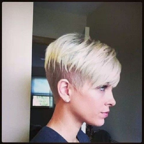 Undercut Pixie Hairstyle  Undercut Pixie Hair Pinterest