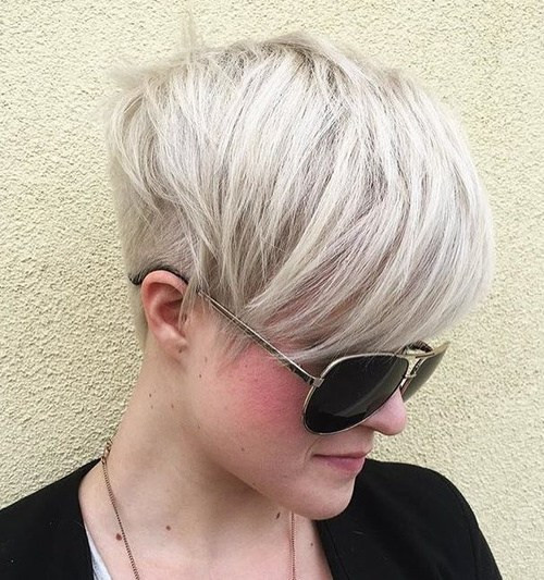 Undercut Pixie Hairstyle  22 Pretty Short Haircuts 2019 Easy Everyday Short Hair Styles