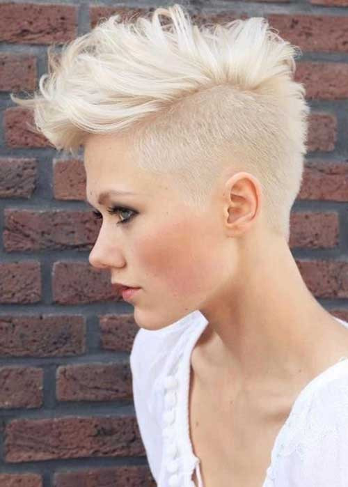 Undercut Pixie Hairstyle  20 Textured Short Haircuts
