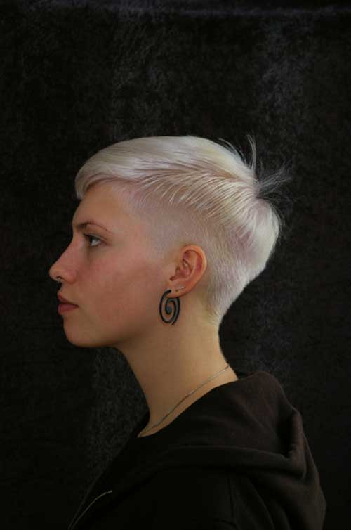 Undercut Pixie Hairstyle  30 Girls Hairstyles for Short Hair