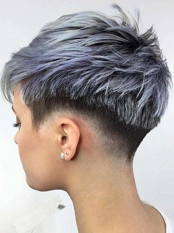 Undercut Pixie Hairstyle  Top 30 Undercut Short Pixie Haircuts for 2018