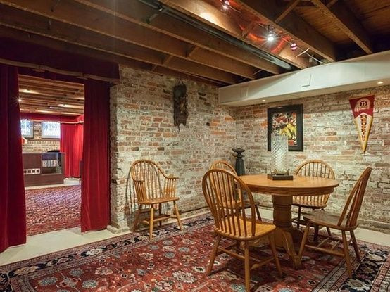 Best ideas about Unfinished Basement Decorating Ideas . Save or Pin 14 best images about Unfinished Basement on Pinterest Now.