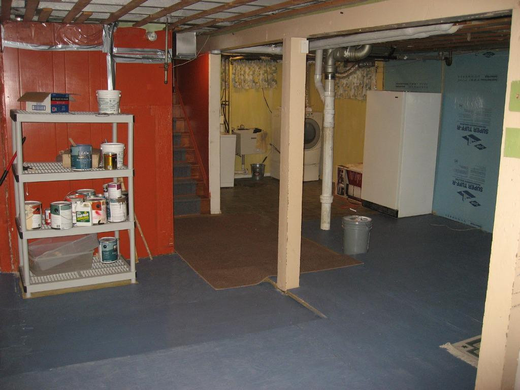 Best ideas about Unfinished Basement Decorating Ideas . Save or Pin Cool Unfinished Basement Ideas Now.