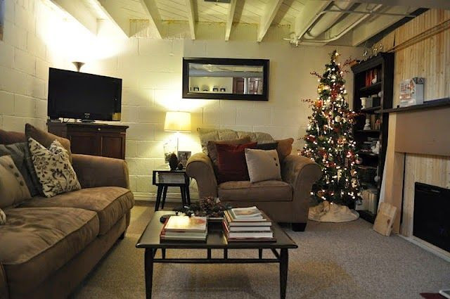 Best ideas about Unfinished Basement Decorating Ideas . Save or Pin unfinished basement decorating ideas on a bud Google Now.