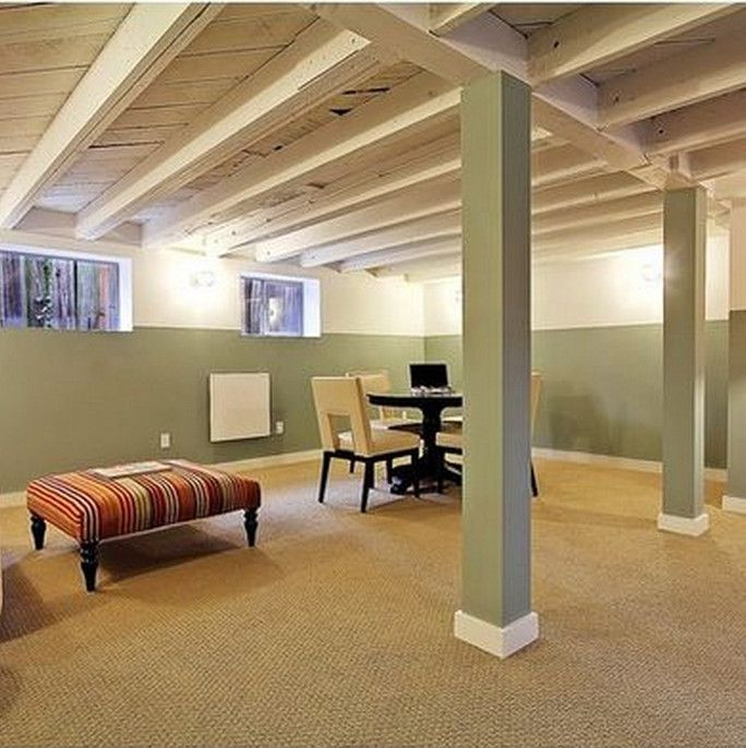 Best ideas about Unfinished Basement Ideas On A Budget . Save or Pin 1000 ideas about Basement Ceilings on Pinterest Now.
