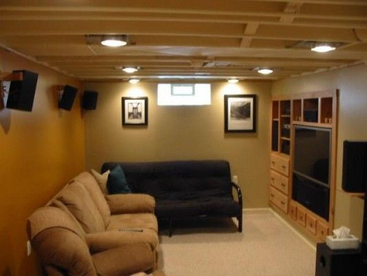 Best ideas about Unfinished Basement Ideas On A Budget . Save or Pin Beautiful Minneapolis Basement ceilings Now.