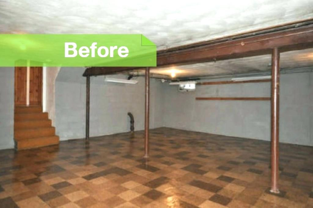 Best ideas about Unfinished Basement Ideas On A Budget . Save or Pin Cheap Basement Ideas Unfinished Ceiling Inexpensive Now.