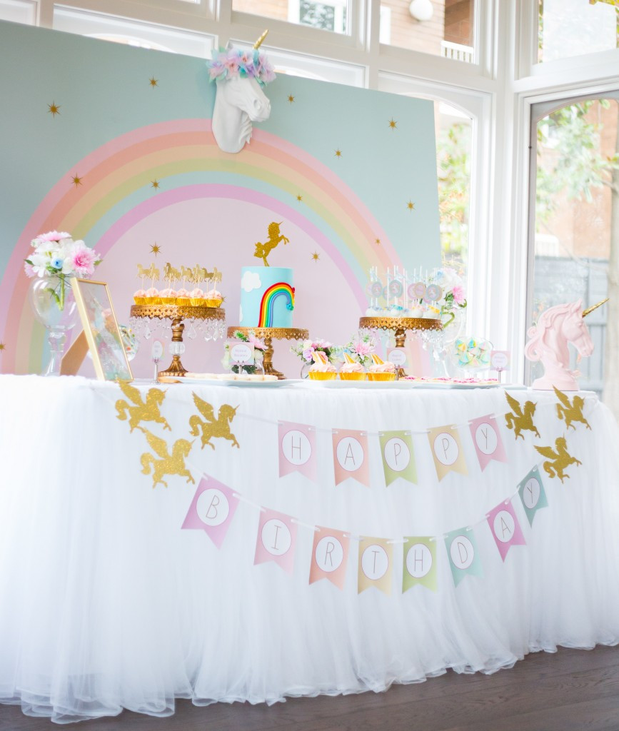 Best ideas about Unicorn Birthday Decorations . Save or Pin 17 unicorn party ideas Lolly Jane Now.