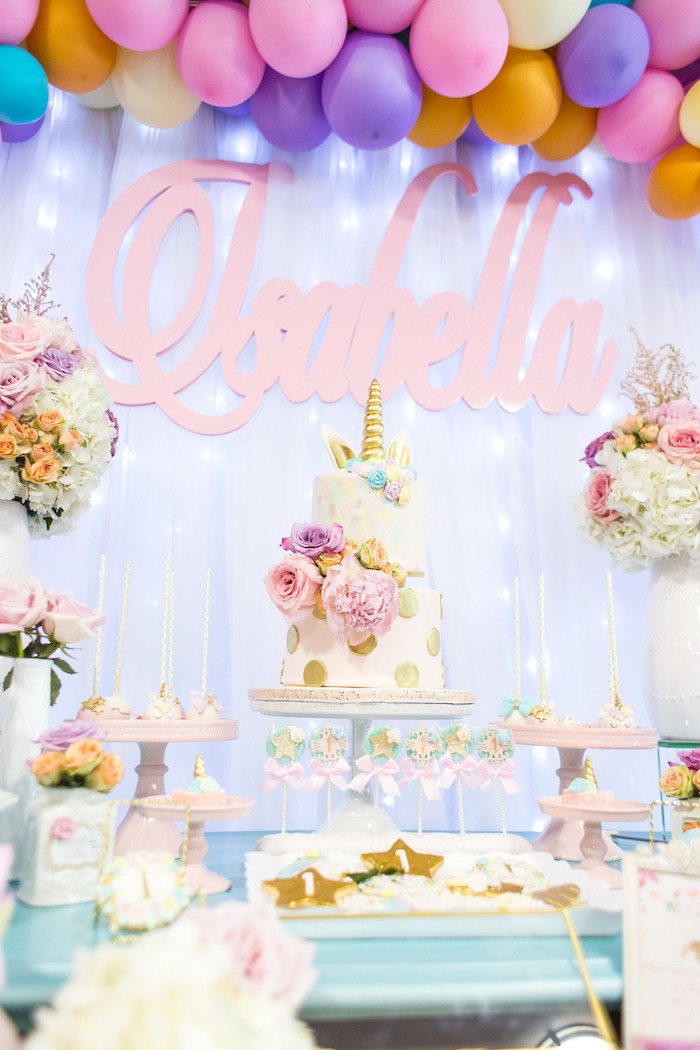 Best ideas about Unicorn Birthday Decorations . Save or Pin Kara s Party Ideas Mystical and Magical Unicorn Birthday Now.