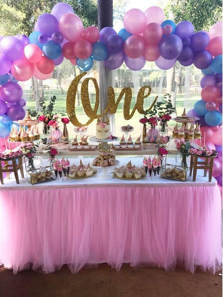 Best ideas about Unicorn Birthday Decorations . Save or Pin Magical Unicorn First Birthday Party Birthday Party Now.