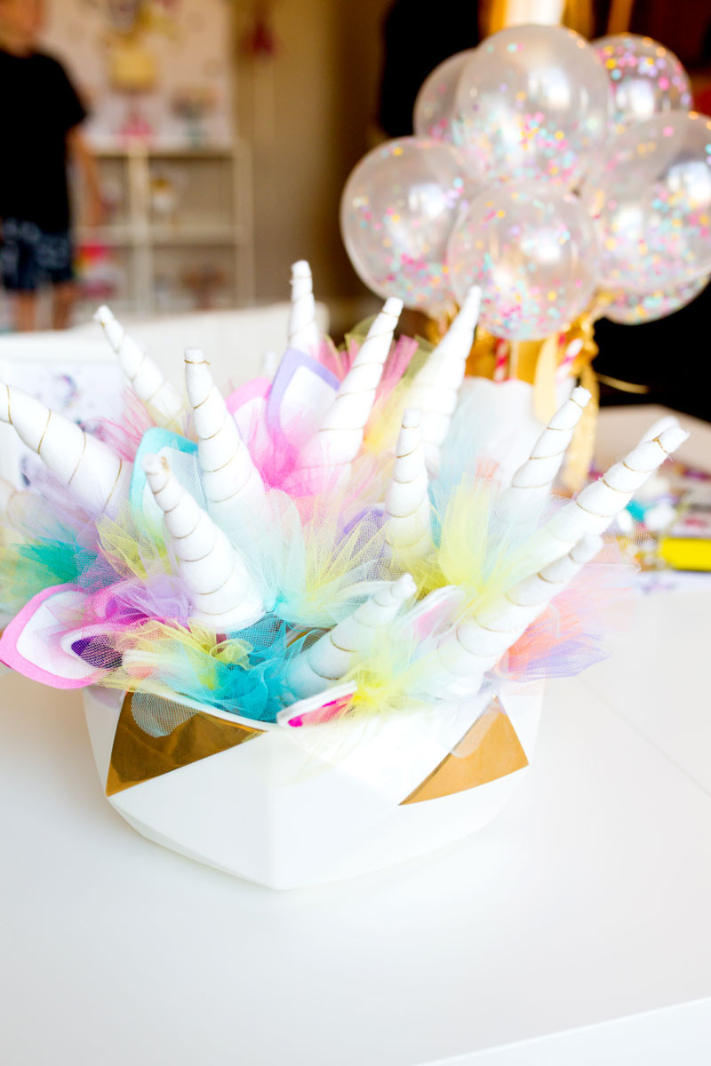 Best ideas about Unicorn Birthday Decorations . Save or Pin Unicorn Birthday Party Decorations by Modern Moments Now.