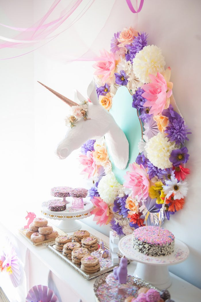 Best ideas about Unicorn Birthday Decorations . Save or Pin Go Ask Mum 12 Magical Unicorn Party Ideas That Will Blow Now.