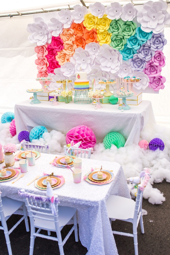 Best ideas about Unicorn Birthday Decorations . Save or Pin Kara s Party Ideas Magical Unicorn Birthday Party Now.