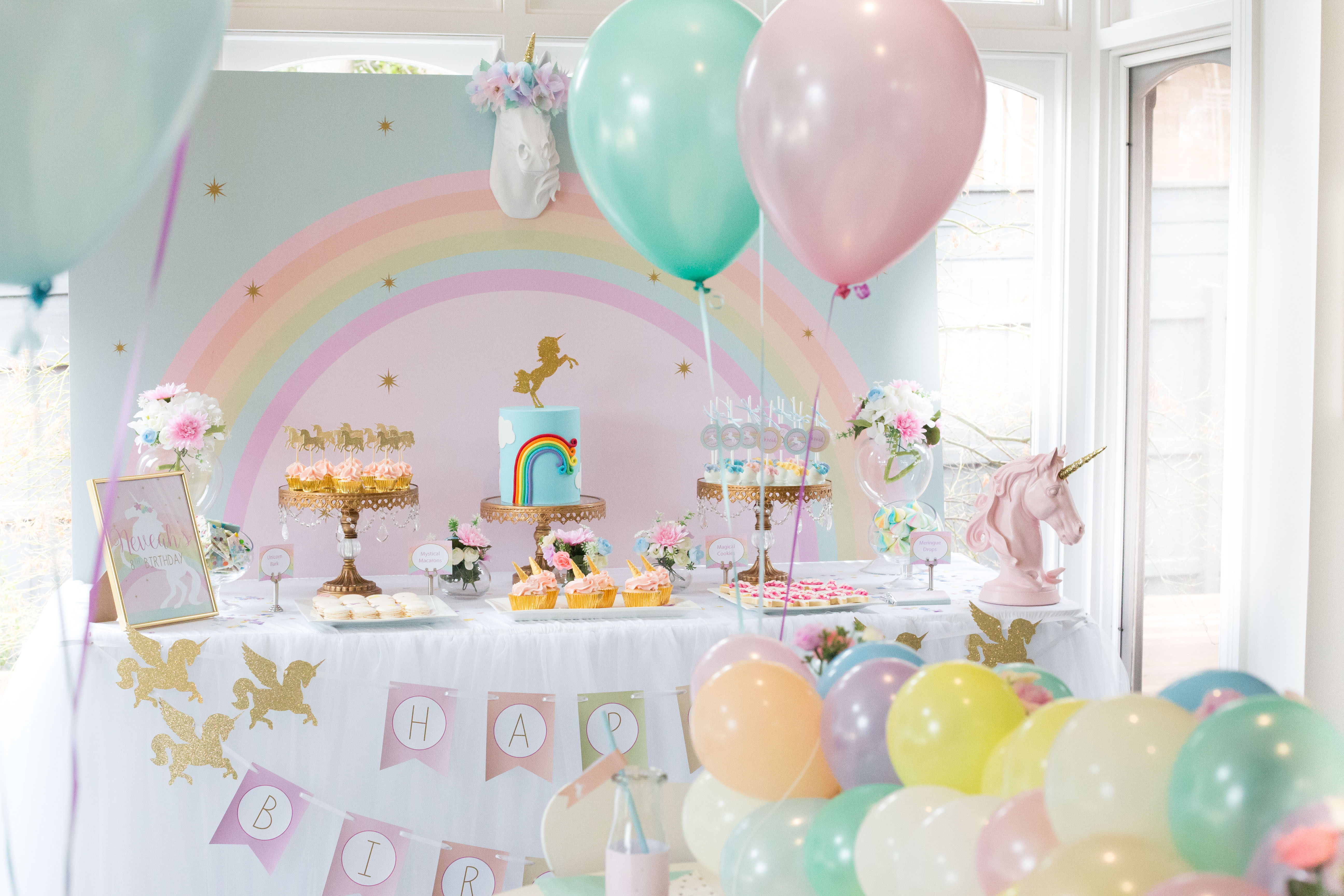 Best ideas about Unicorn Birthday Decorations . Save or Pin Unicorn Birthday Party Now.