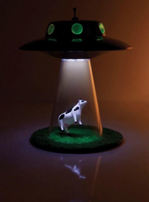 Best ideas about Unique Desk Lamps . Save or Pin Unique Desk Lamp for X Files Fans Shelterness Now.