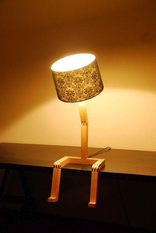 Best ideas about Unique Desk Lamps . Save or Pin 57 Unique Creative Table Lamp Designs DigsDigs Now.