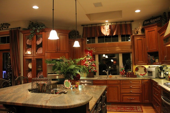 Best ideas about Unique Kitchen Decor . Save or Pin decorating a kitchen for christmas 2017 Grasscloth Wallpaper Now.