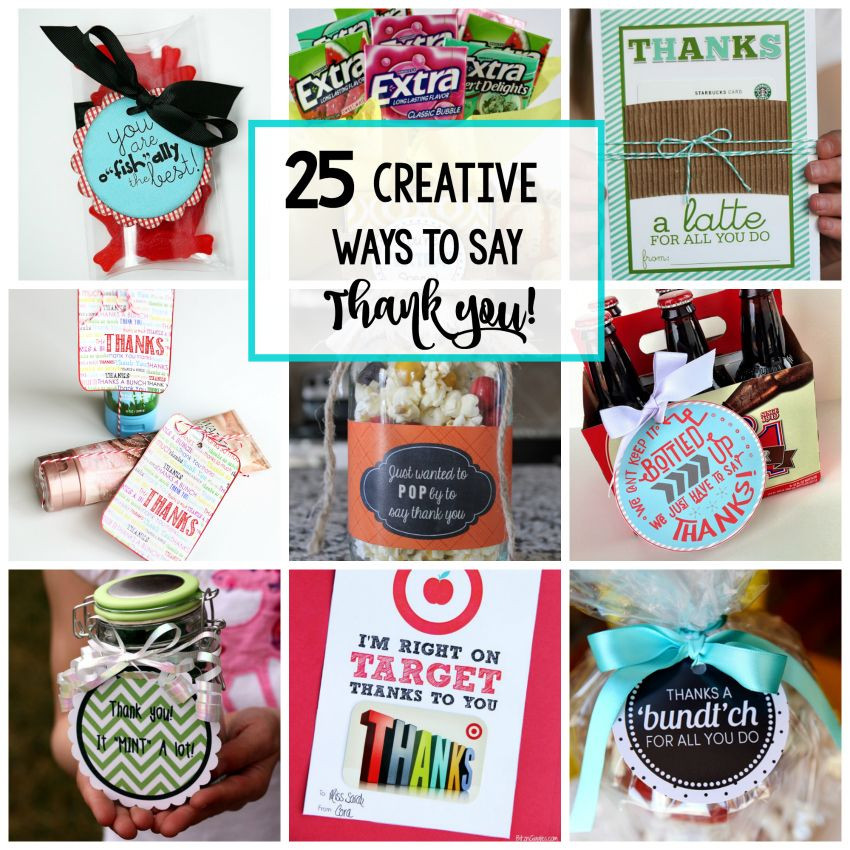 Unique Thank You Gift Ideas  25 Creative & Unique Thank You Gifts