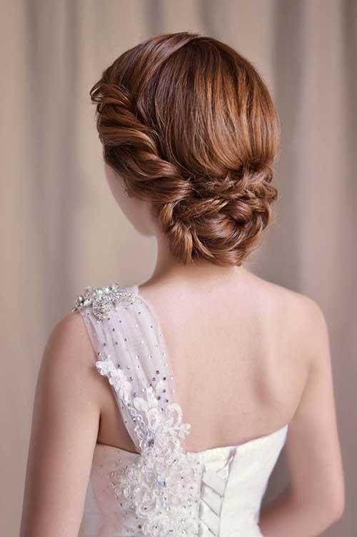 Updo Braid Hairstyles  26 Nice Braids for Wedding Hairstyles