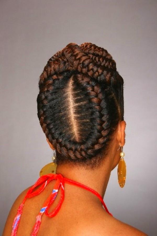 Updo Braid Hairstyles  Stunning Goddess Braids Styles
