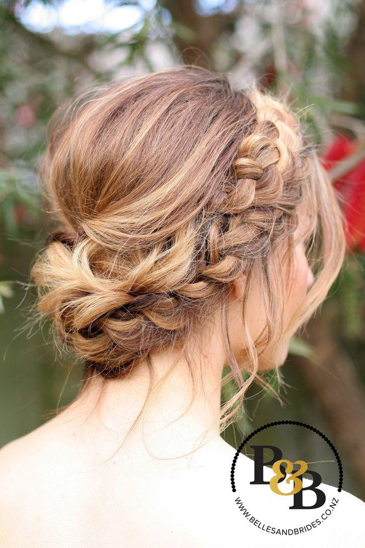 Updo Braid Hairstyles  17 best ideas about Braided Updo on Pinterest