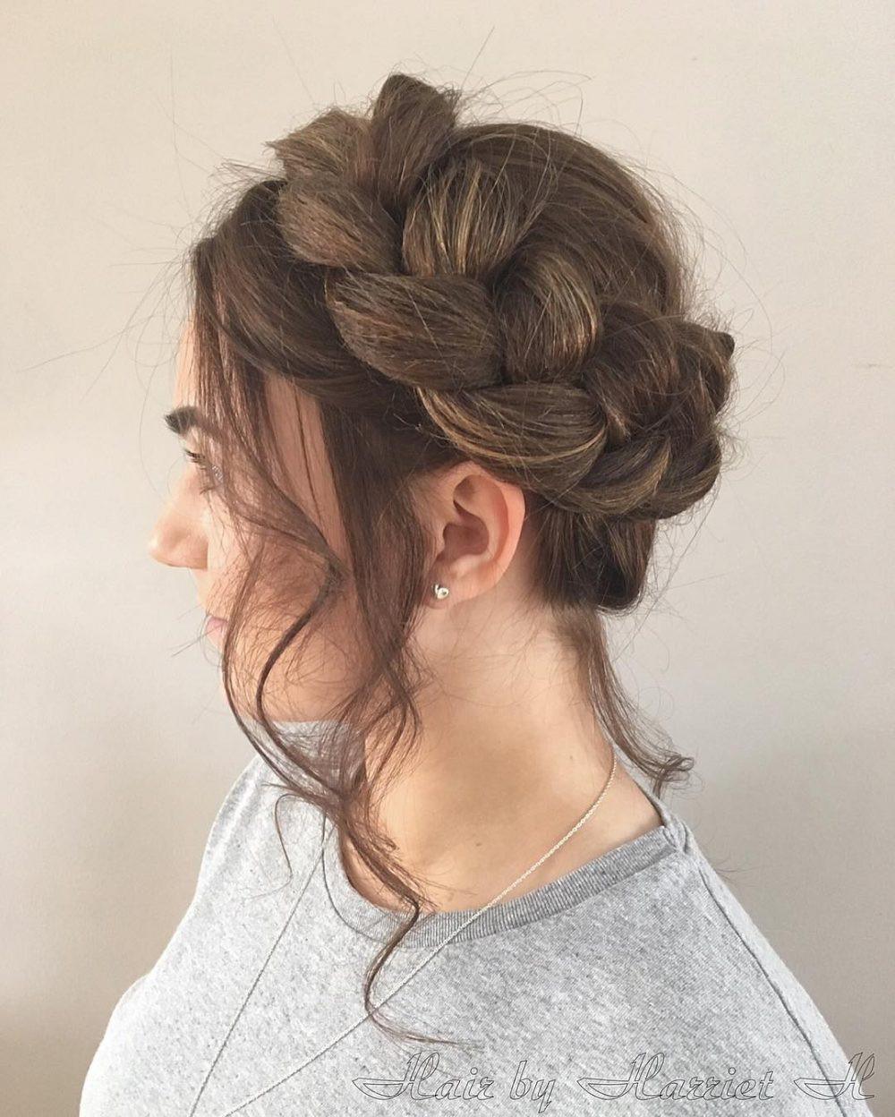 Updo Braid Hairstyles  26 Gorgeous Braided Updos You Must Try
