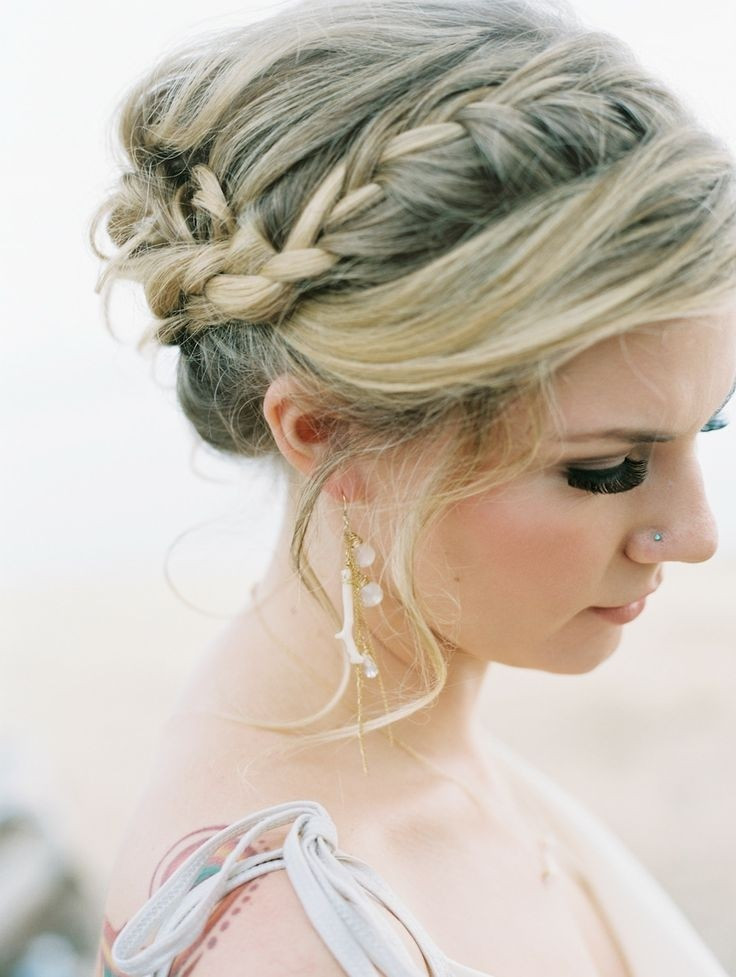 Updo Braid Hairstyles  8 Chic Braided Updos Updo Hairstyles Ideas PoPular Haircuts