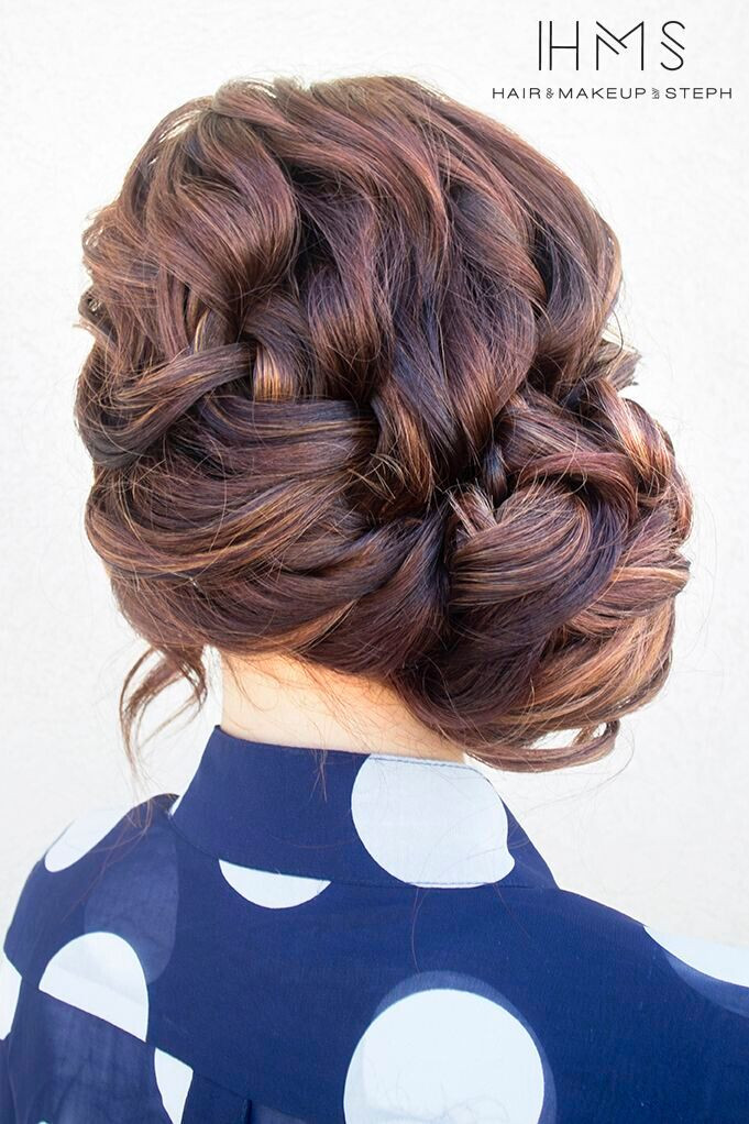 Updo Braid Hairstyles  Stylish New Braided Updo Hairstyles 2015 Jere Haircuts