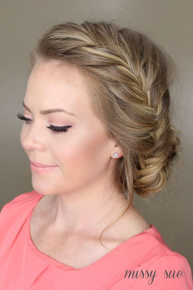 Updo Braid Hairstyles  21 All New French Braid Updo Hairstyles PoPular Haircuts