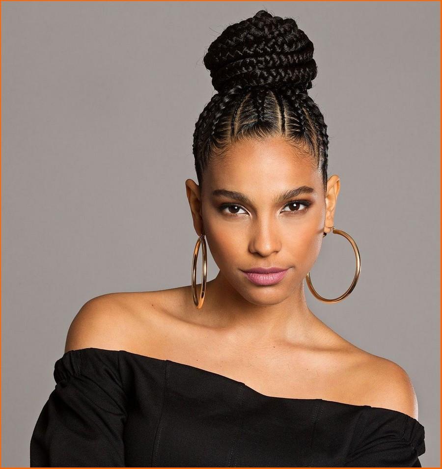Updo Braid Hairstyles  Black Hairstyles Updo 2018 HairStyles