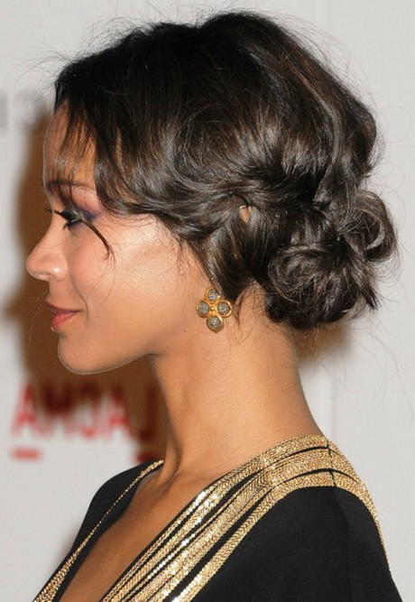 Updo Hairstyles For Prom Black Hair  Black girl prom hairstyles