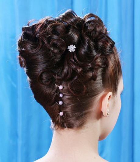 Updo Hairstyles For Prom Black Hair  Black prom updo hairstyles