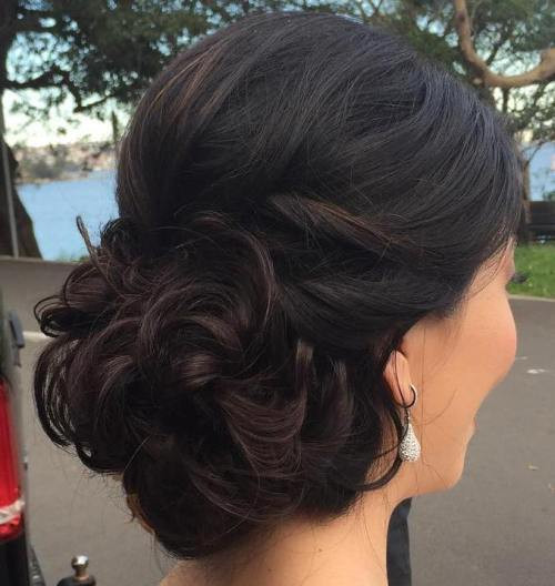Updo Hairstyles For Prom Black Hair  40 Most Delightful Prom Updos for Long Hair in 2017