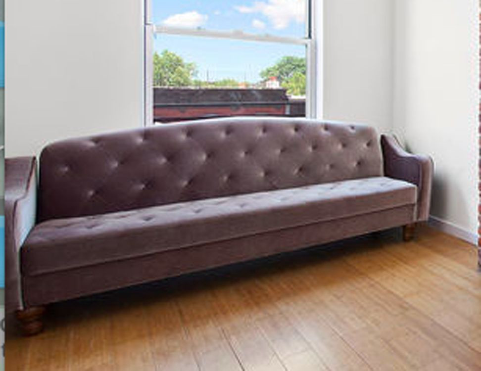 Best ideas about Urban Outfitters Sofa . Save or Pin Ava Velvet Sable Tufted Sleeper Sofa Bed Urban Outfitters Now.