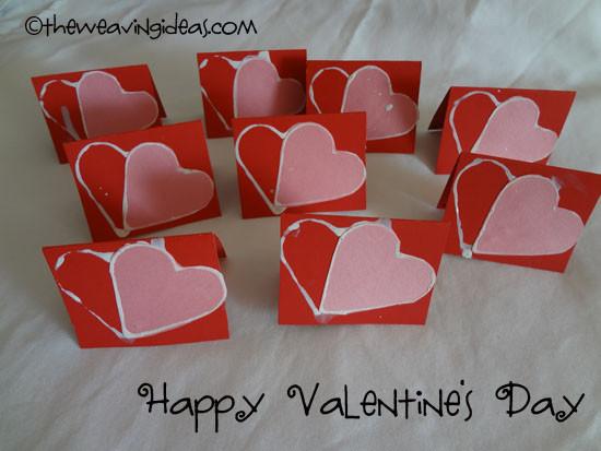 Valentine Card Ideas For Preschoolers  Recap Valentine s Day 2013 & Preschool Gift ideas