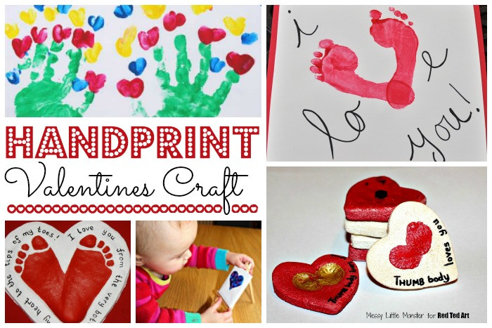 Valentine Card Ideas For Preschoolers  Valentine Crafts for Preschoolers Red Ted Art s Blog