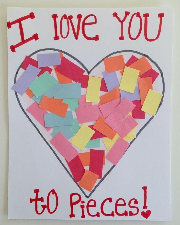 Valentine Card Ideas For Preschoolers  Valentine Day Craft Preschool Kids & Preschool Crafts