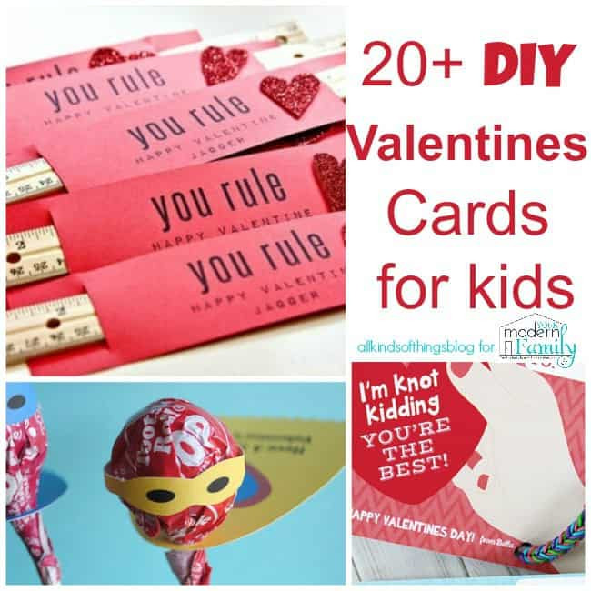 Valentine Card Ideas For Preschoolers  20 UNIQUE DIY Valentine s Day Card Ideas for Kids