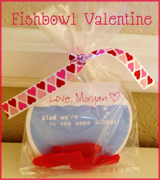 Valentine Card Ideas For Preschoolers  Swedish Fish Valentine's Cards Tiny Oranges