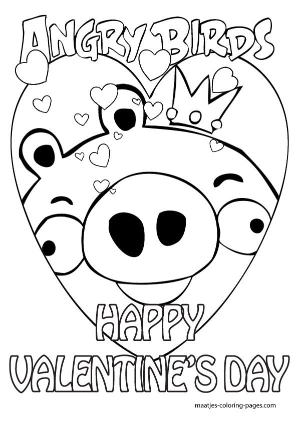 Valentine Coloring Pages For Boys  Valentines Day Coloring Pages For Kids Printable